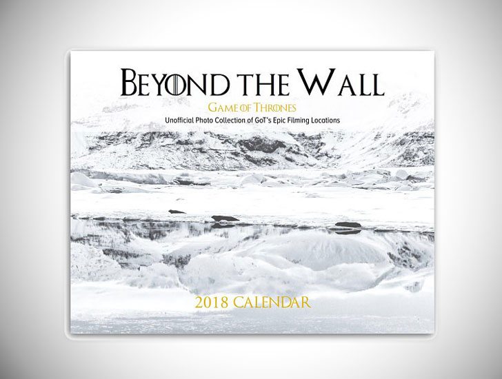 Game of Thrones Real Filming Locations Wall Calendar