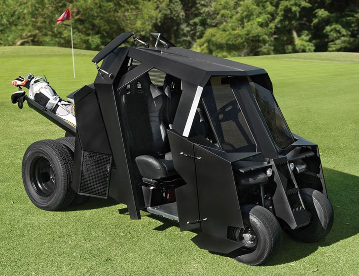 Gotham Batman Tumbler Golf Cart