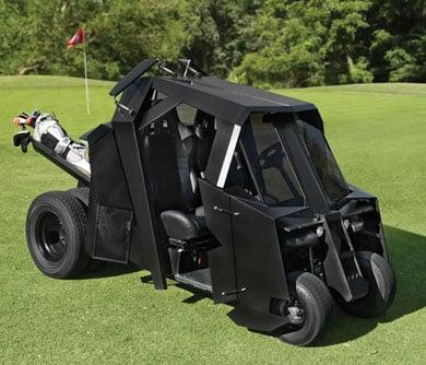 Gotham Batman Tumbler Golf cart