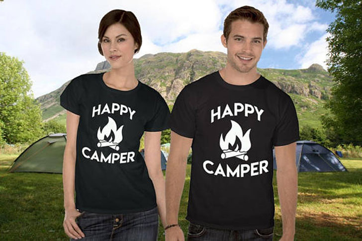 Happy Camper T-Shirts