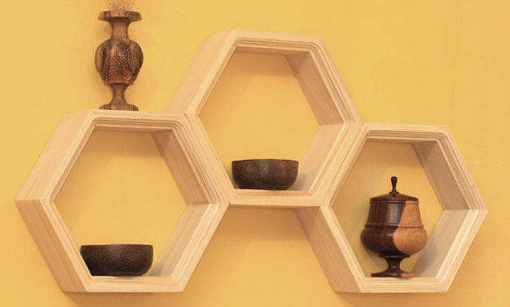 Honeycomb-Shelvings