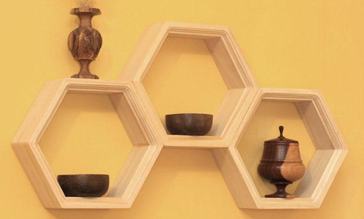 Honeycomb-Shelvings