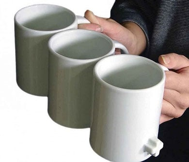 Interlocking Coffee Mugs