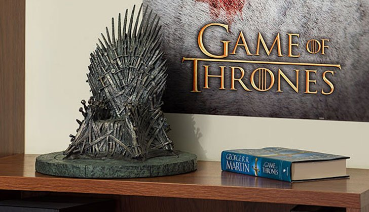 Iron Throne Replica - Cool Game Of Thrones Gift Ideas