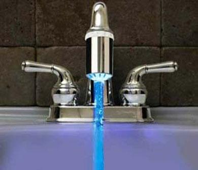 LED Temperature Faucet Nozzle