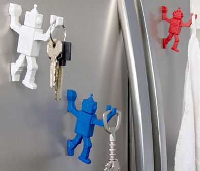 Magnetic Robot Key Holder