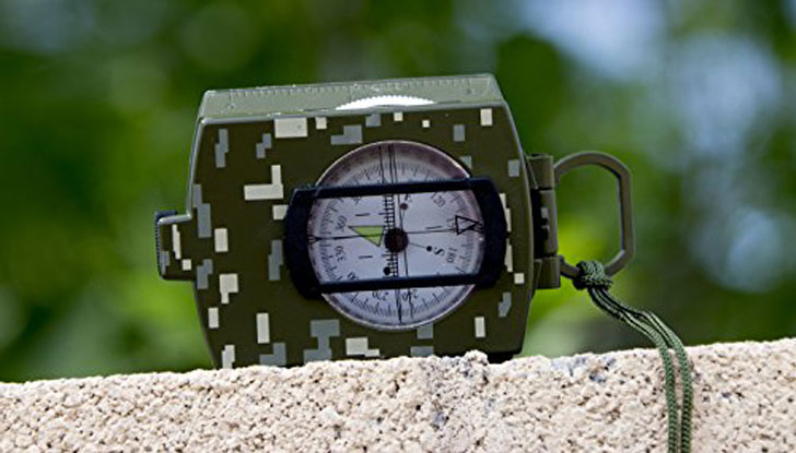 Military Lensatic Sighting Compass