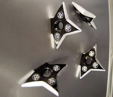 Ninja Star Fridge Magnets