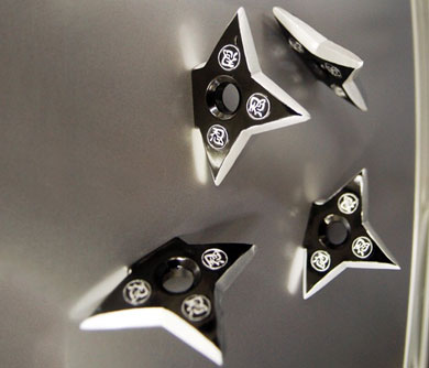 Ninja Star Fridge Magnets