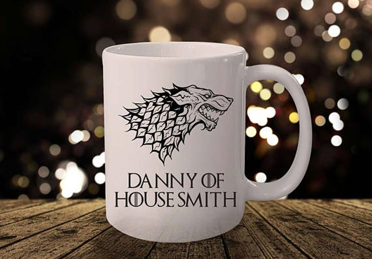 Personalised Game of Thrones Mugs - game of thrones gifts