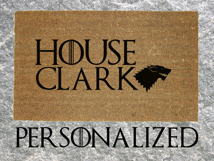 Personalised GoT inspired Doormats