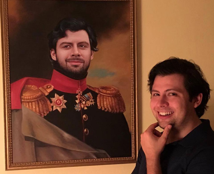 Personalized Noble Painting