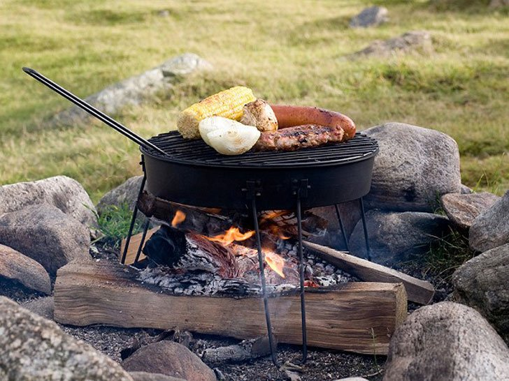 Pop-up Portable Camping Grill