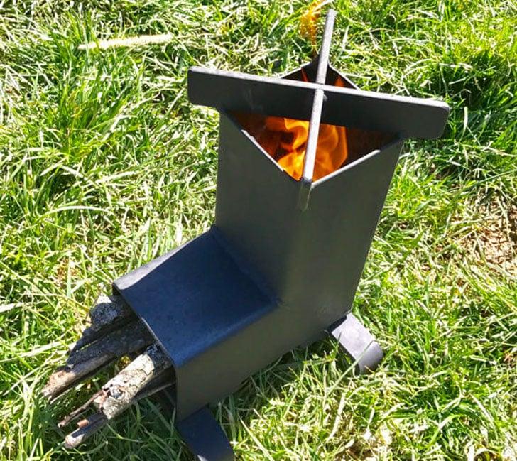 Rocket Stove Portable Camping Stove