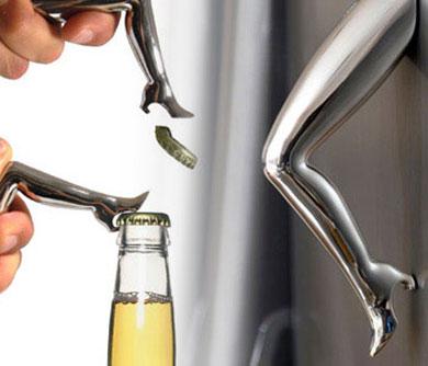 Sexy Legs Fridge Magnet Bottle Opener