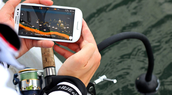 Smartphone Fish Finder Attachment