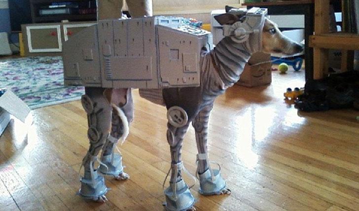 Star Wars AT-AT Dog Costume & Star Wars AT-AT Dog Costume - Awesome Stuff 365