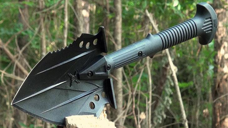 Tactical Survival Shovel