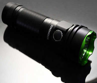 Tactical USB Backup Flashlight