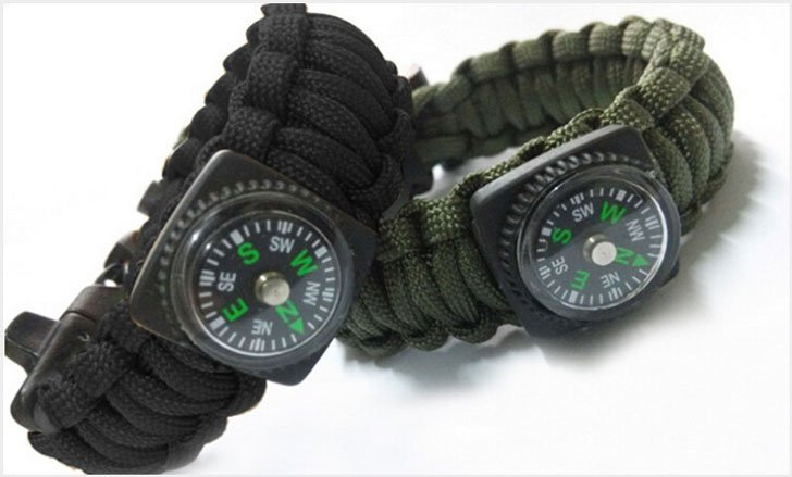 The 5-In-1 Survival Bracelet