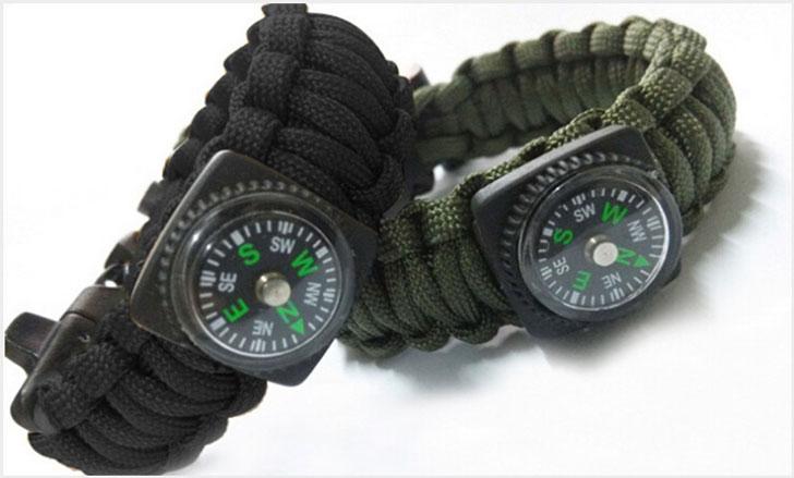 The 5-In-1 Survival Bracelet