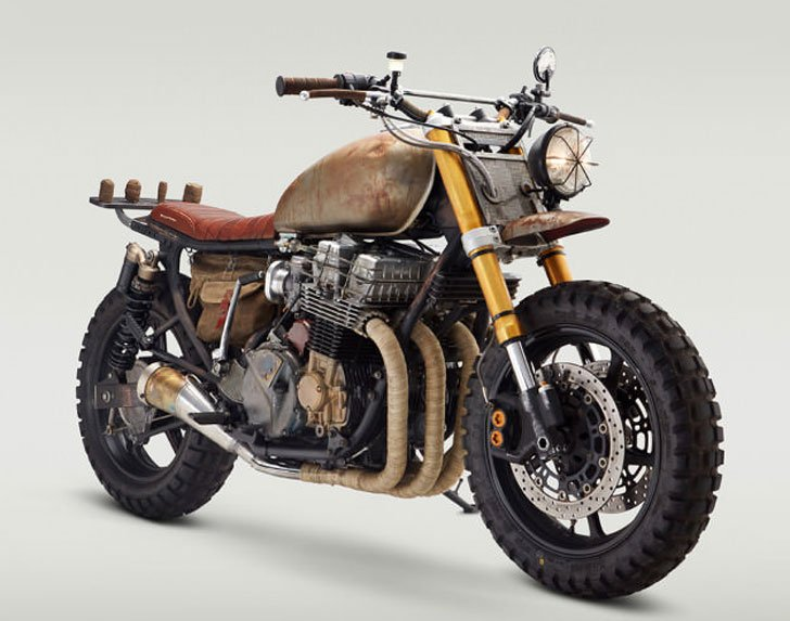 The Daryl Dixon Motorbike