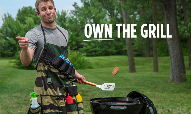 The Grill Sergeant BBQ Apron