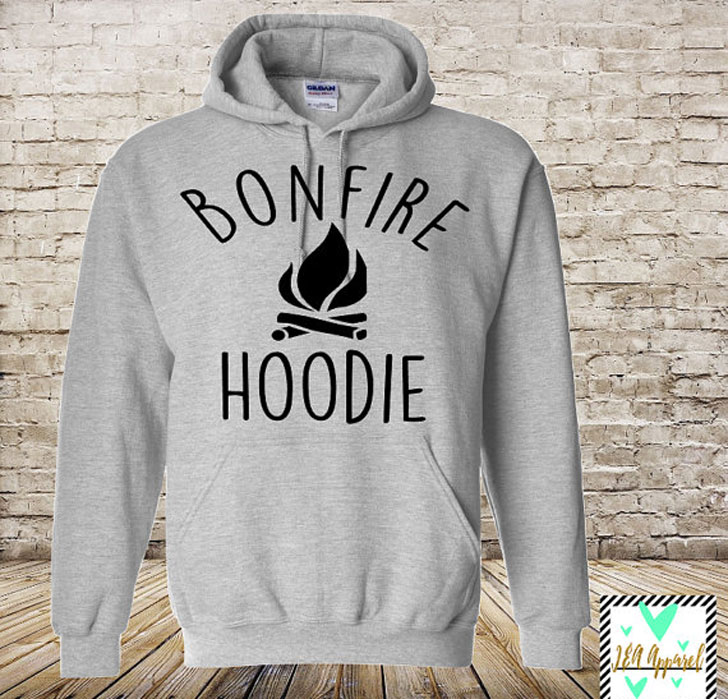 Unisex Bonfire Camping Hoodies