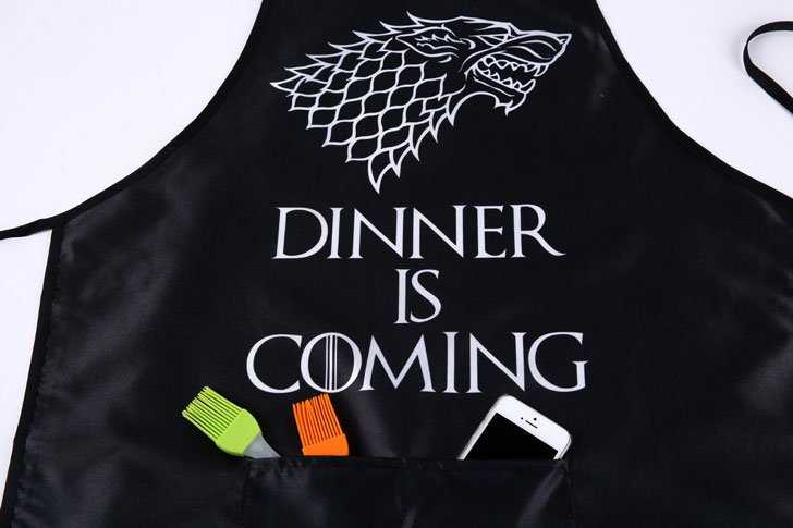 Winter Is Coming Kitchen Apron - Cool Game Of Thrones Gift Ideas