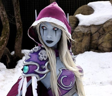 World-of-Warcraft-Sylvanas-Cosplay-Set