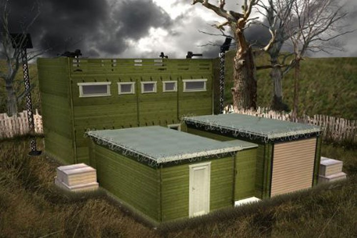 Zombie-Fortification-Cabin