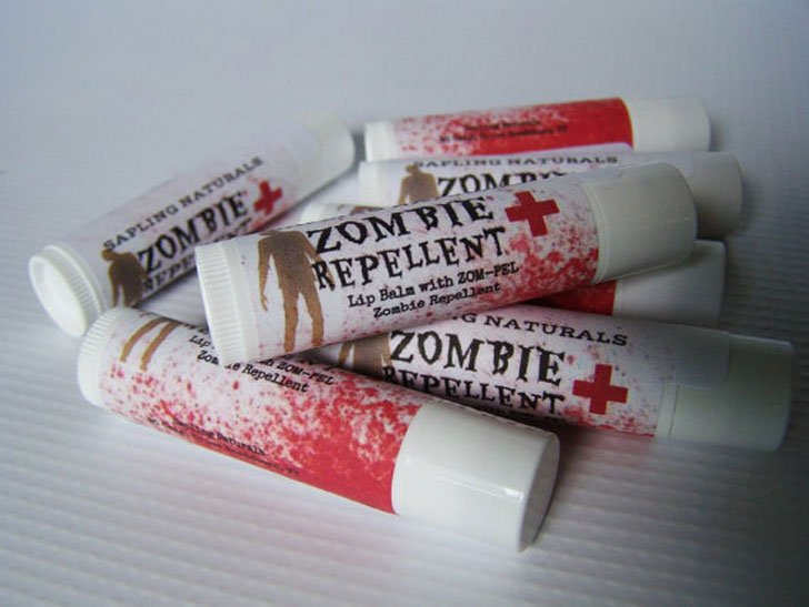 Zombie Repellant Lip Balm