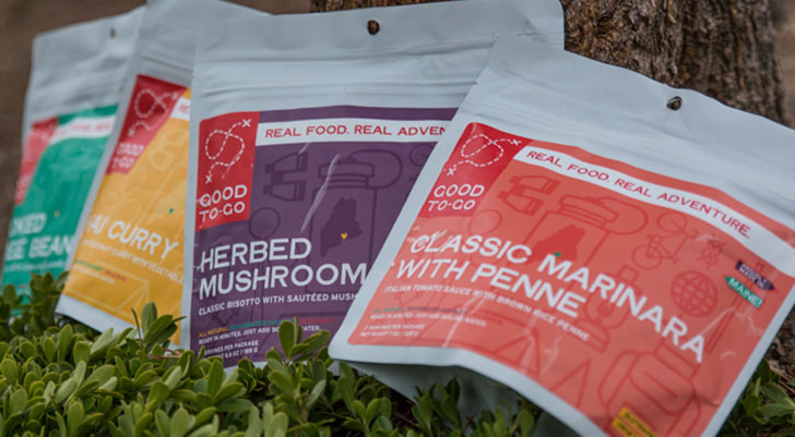 Dehydrated Camping Food