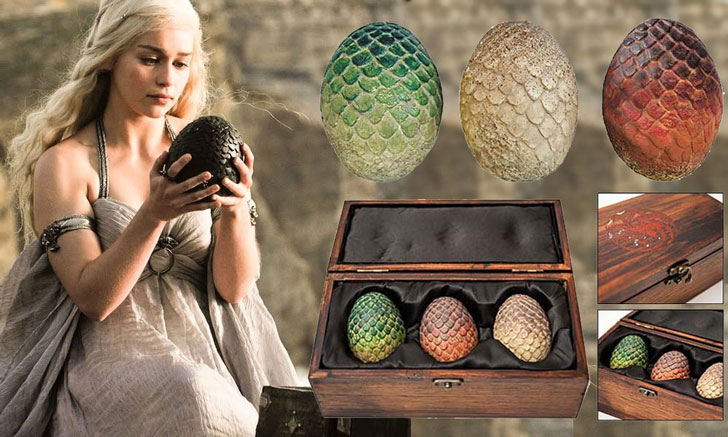 dragon eggs collection - Cool Game Of Thrones Gift Ideas