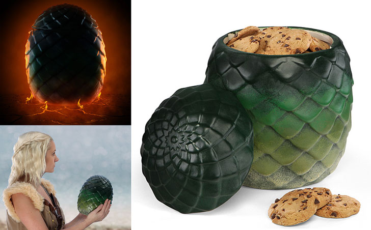 game of thrones dragon egg cookie jar - Cool Game Of Thrones Gift Ideas