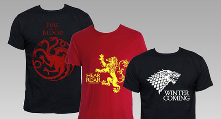 Game Of Thrones House T-Shirts - Cool Game Of Thrones Gift Ideas
