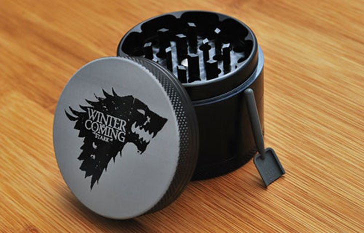 Winter is Coming Herb Grinder - Cool Game Of Thrones Gift Ideas