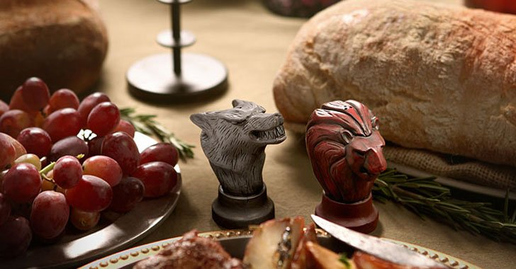 map marker salt and pepper shakers - Cool Game Of Thrones Gift Ideas