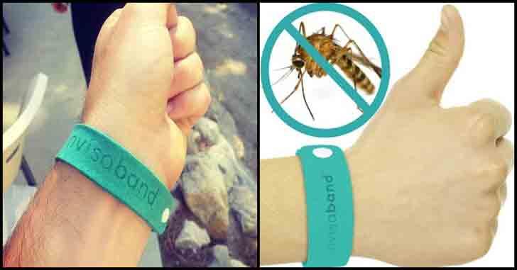 mosquito repellent wristband invisiband