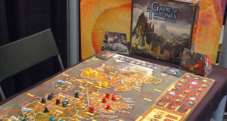The G.O.T Board Game - Cool Game Of Thrones Gift Ideas