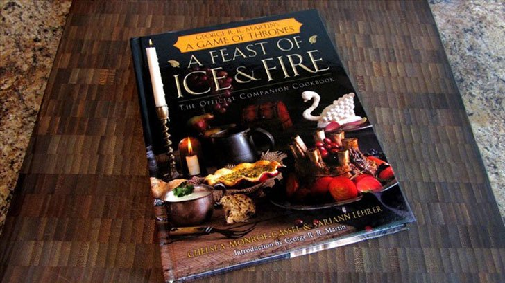 The Official G.O.T Cookbook - Cool Game Of Thrones Gift Ideas