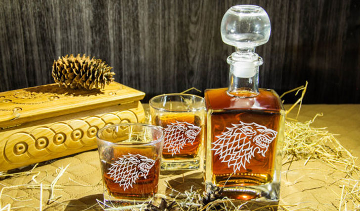 Whisky Decanter Set - Cool Game Of Thrones Gift Ideas