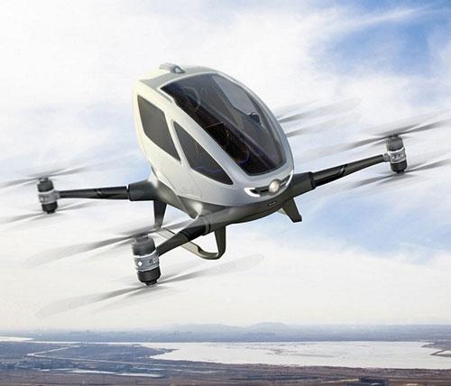 Autonomous-Passenger-Drone-Vehicle