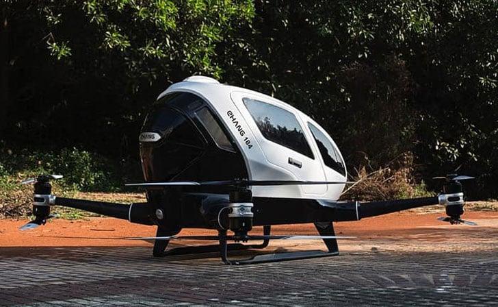 Autonomous Passenger Drone Vehicle