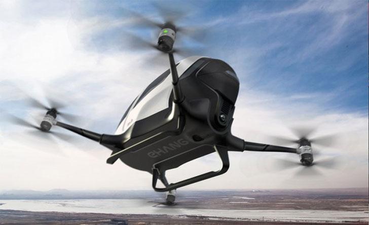 Autonomous-Passenger-Drone-Vehicles