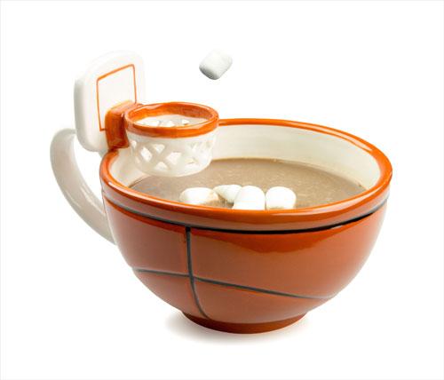 Basketball Mug With Hoop