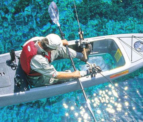 Clear Bottom Fishing Kayak