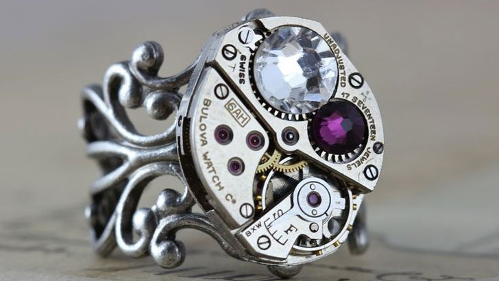 steampunk gifts for her - rings - Steampunk Gifts For Her