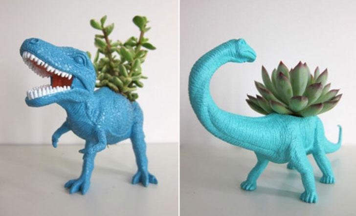 Dinosaur Planter Pots