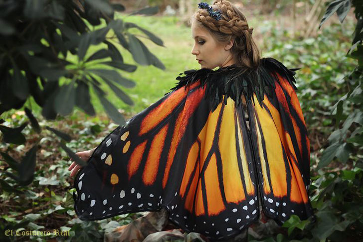 Handcrafted Butterfly Cloaks